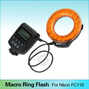 Meike-FC-110-LED-Macro-Ring-Flash-Light-For-Canon-Nikon-Sony-Olympus-DSLR-Camera