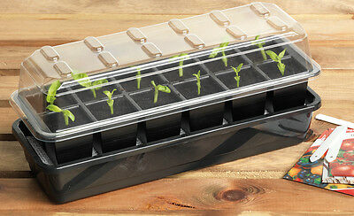 Garland 12 or 24-Cell Self-Watering Full Size Seed Propagator 7 days watering