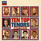 Ten Top Tenors von Jonas Kaufmann,Plácido Domingo,Luciano Pavarotti (2015)