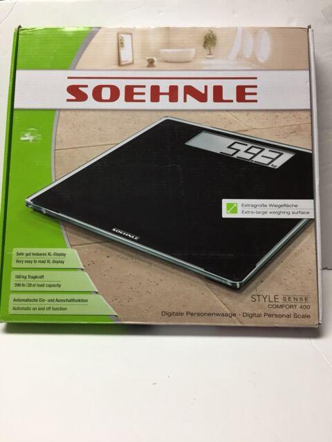 Soehnle Style Sense Comfort 400 Digital Personal Bathroom ...