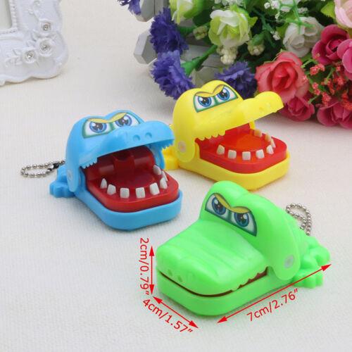 Cute Crocodile Mouth Dentist Bite Finger Game Funny Toy Kids Children Gift
