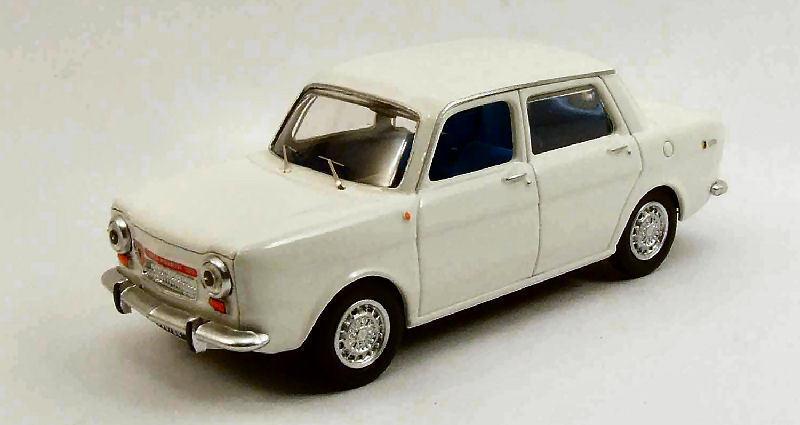 Simca Abarth 1150 1963 Bianco 1 43 Model BEST MODELS