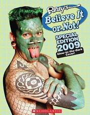 Ripley's Believe It or Not! Special Edition 2009 Glow in Dark Cover Scholastic