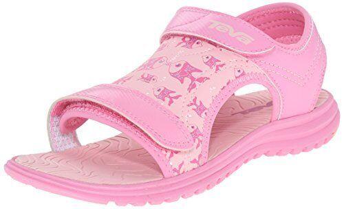 4742d687fd0f Teva Psyclone 6 Sport Sandal Toddler little Kid Kissing Fish Pink 2 M US Lit