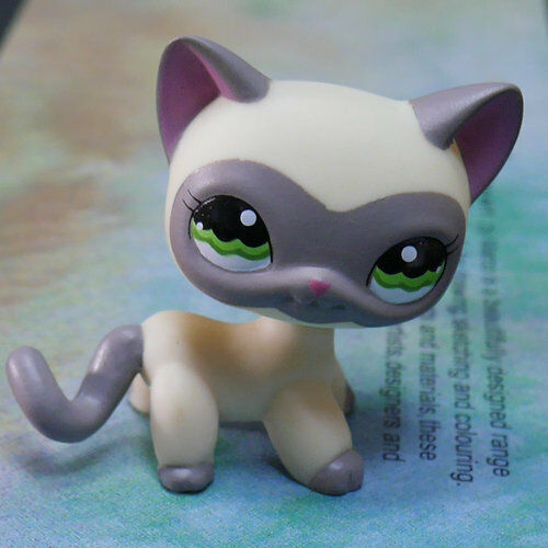Buy Lps Collection Figure 1116 Grey Mask Yellow Cat Kitty 2