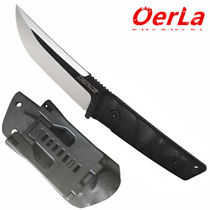 Oerla-Straight-Knife-Fixed-Blade-Fine-Edge-Blade-G10-Handle-and-Kydex-Sheath