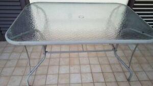 Tavoli Sedie Da Giardino Usati.Set Da Giardino Terrazzo Composto Da Un Tavolo E 6 Sedie Con