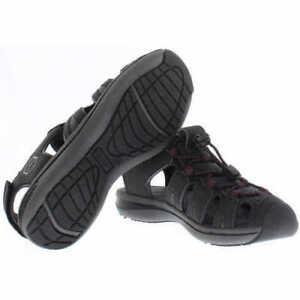NEW-Khombu-Ladies-039-Ashley-Active-Sandal-Black-Pick-A-Size
