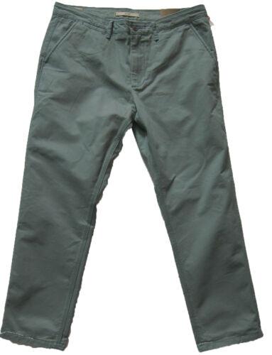 NUOVA linea uomo Marks /& Spencer Blu Verde Pantaloni Slim Girovita 44 Gamba 38 36 31 29