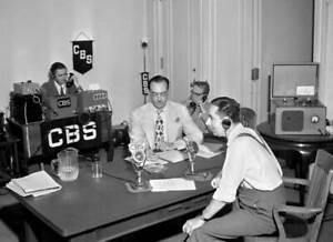 OLD-CBS-RADIO-TV-PHOTO-News-Reporter-Ned-Calmer