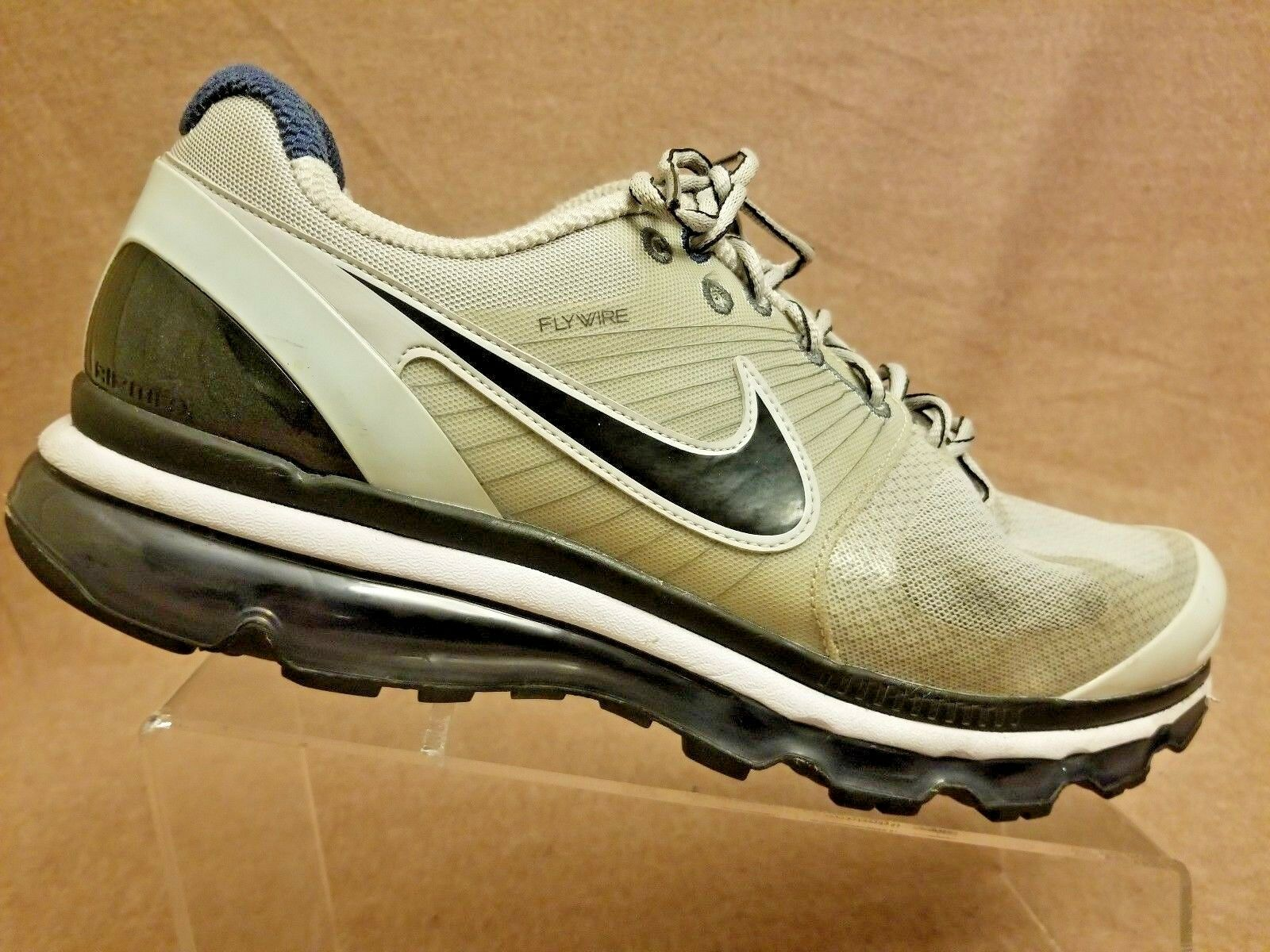 RARE Nike 386368-015 Air Max 2010 Flywire Men Gray Sport Athletic Shoes Comfortable Seasonal price cuts, discount benefits