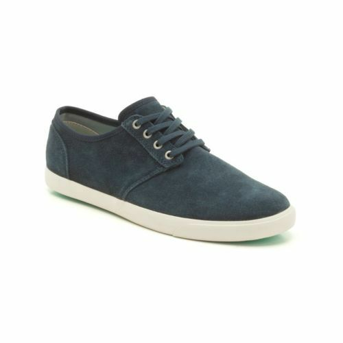 CLARKS MENS TORBAY LACE NAVY SUEDE LACE UP MOCCASIN UK SIZE 8,8.5,9 G