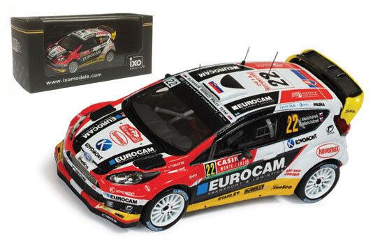 IXO RAM570 Ford Fiesta RS WRC Monte Carlo 2014 - J Melicharek 1 43 Scale
