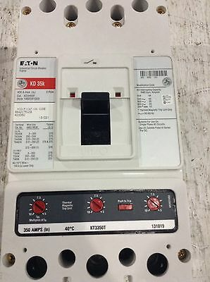 New in Box KD3350 Eaton Circuit Breaker 3 Pole 350 Amp 600V 1 YEAR WARRANTY