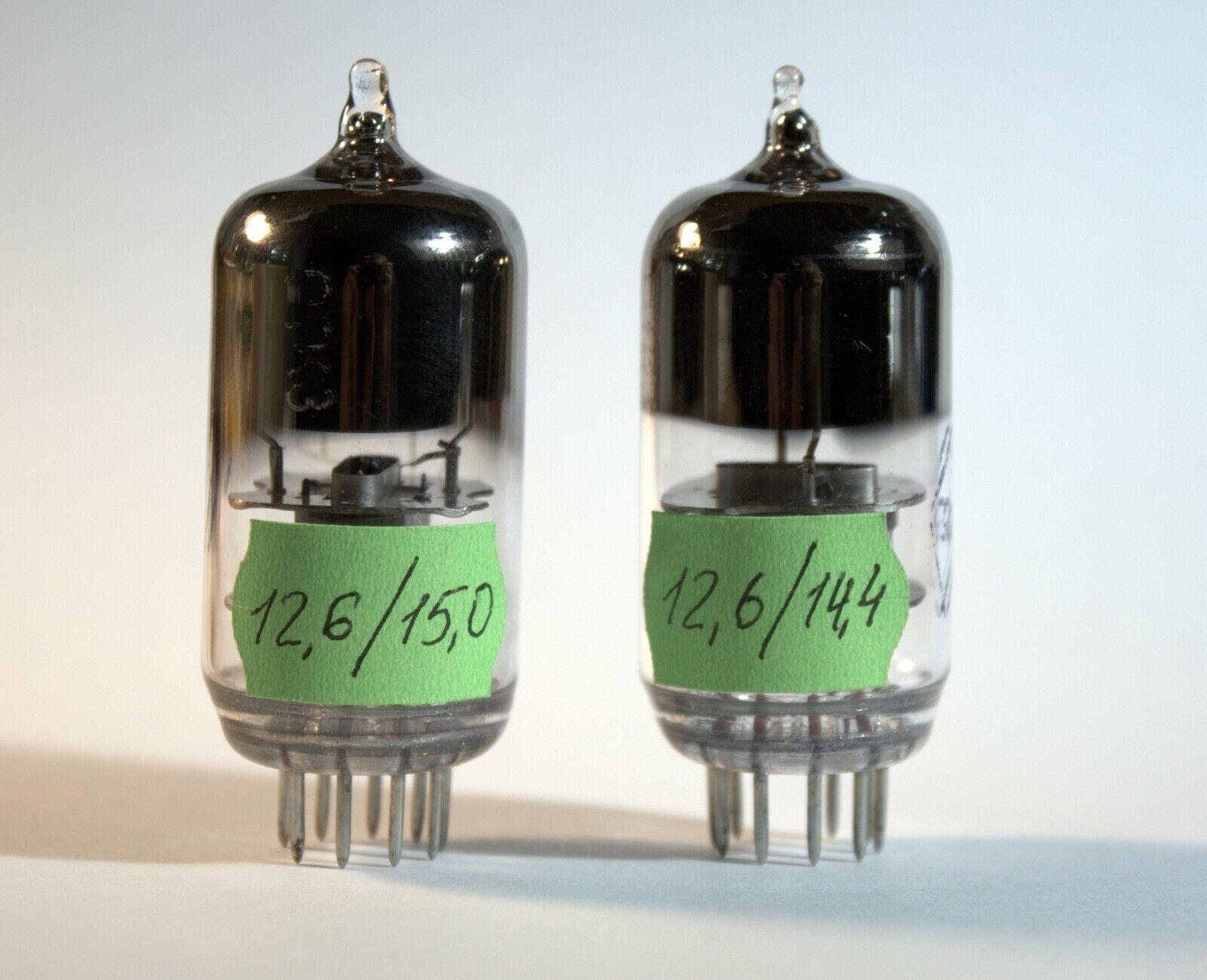Matched Pair 6Zh9P-E/6J9P-E/E180F/6688 HF Radioröhre Neu