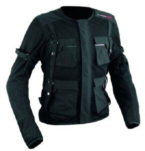 Body Armour Textile Jacket Motorcycle Motorbike Full Ce Armored Biker PréParer L'Ensemble Du SystèMe Et Le Renforcer