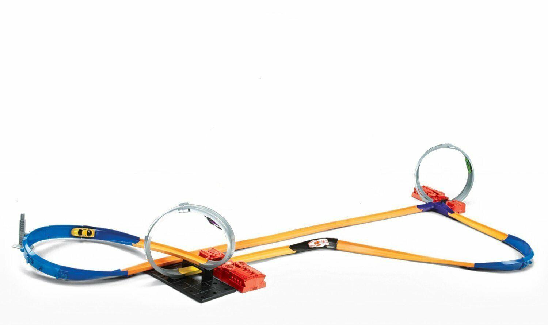 Hot Hot Hot Wheels Y0267 Track Builder 10-in-1 Superset Spielzeug Rennbahn inkl. 1 971944
