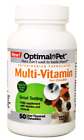 Optimal Pet 50 Count Dog Multi Vitamin Liver Chewables 122c