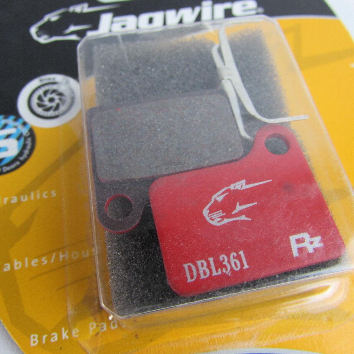 Shimano Deore BR-M555 Jagwire Rz HeatShield disc brake pads DCA015 DBL361