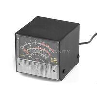 External S meter/SWR/Power Meter Display Meter for Yaesu FT-857/FT-897 Black