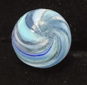 Vintage German Handmade Naked Core Banded Swirl. Pee Wee