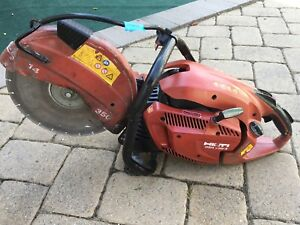 Hilti Dsh 700 X Gas Saw For Parts Only Final Sales