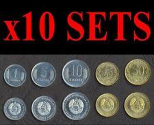 GUYANA $5 AND $10 3 PIECE MODERN UNCIRC COIN SET; $1