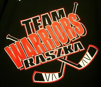 Fan Apparel & Souvenirs Generous Warriors Med Hockey Jersey Team Raszka Polyester #7 Michigan 2015 Game-worn