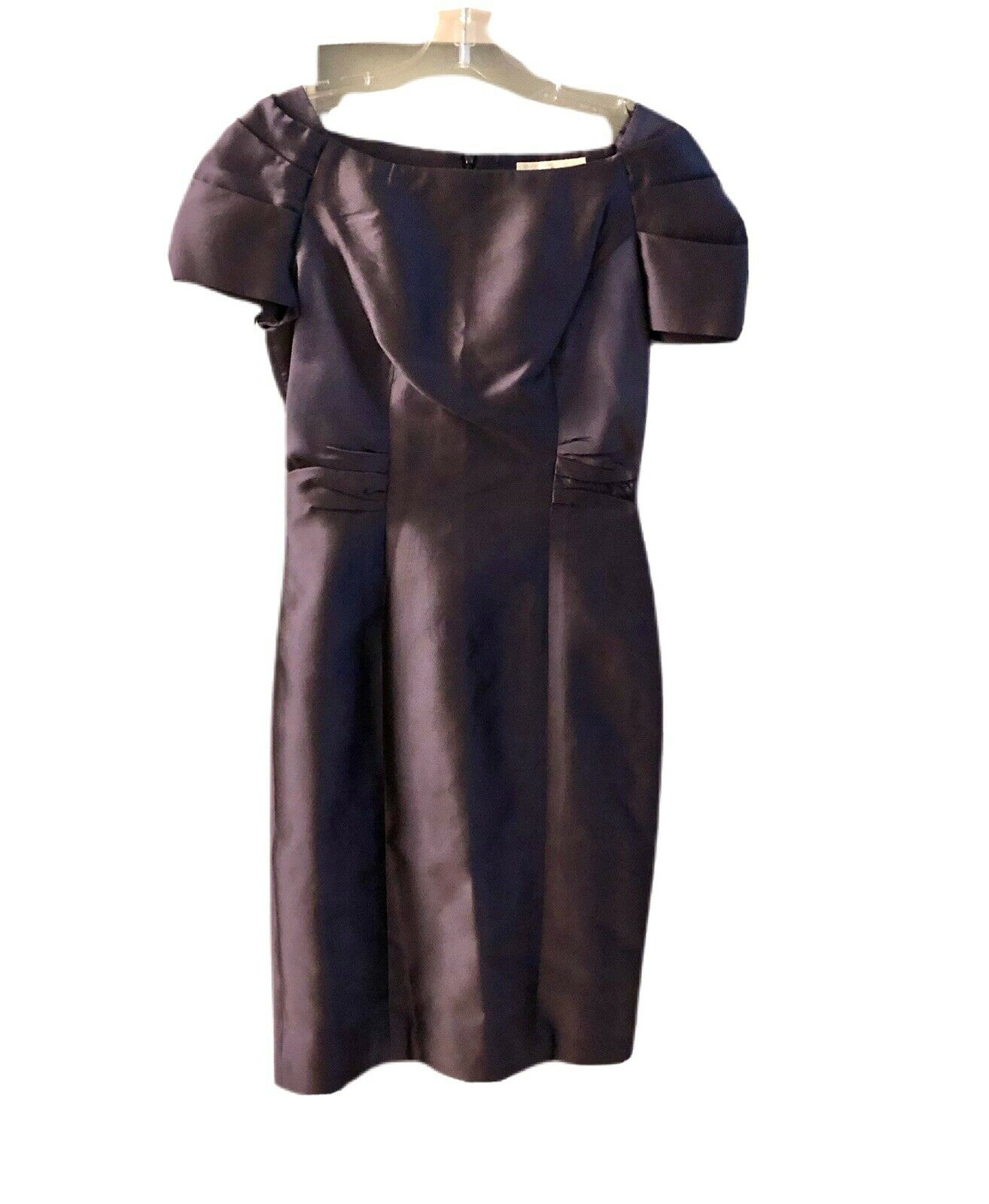 Maria Coca dress designed Spanish for parties, blue with shawl size 8