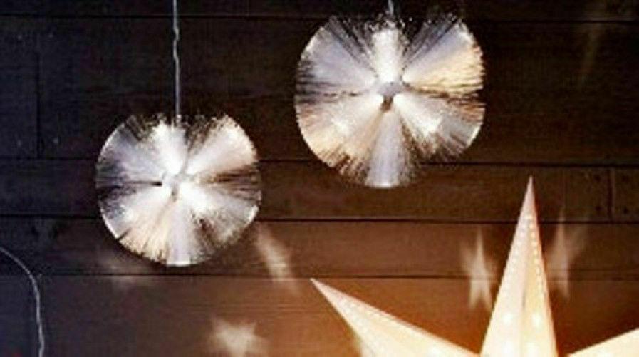 fiberoptik lampa ikea