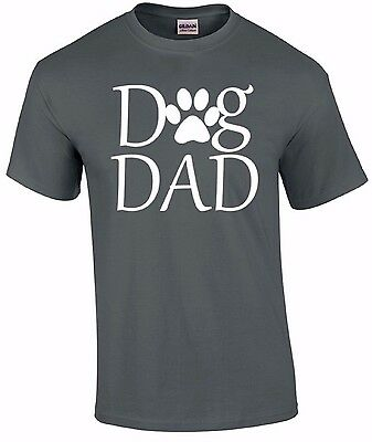 Dog Dad T-SHIRT Gift for Dog Lovers Shirt Paw Shelter Rescue Animal Adopt DOG