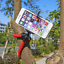 Red-Android-Google-Mobile-Phone-Camera-Tripod-Gorilla-Octopus-Mount-Stand-Holder