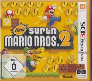 New-Super-Mario-Bros-2-Nintendo-3DS-Neu-amp-OVP-Deutsche-USK-0-Version