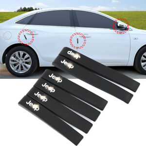 For Jeep Series Rear Mirror Protector Door Side Edge Protection Guards Stickers