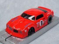 Ho Slot Car Parts - Firebird Trans-am - .010 Lexan Body Lot Of 2 - W/ Mask Kits