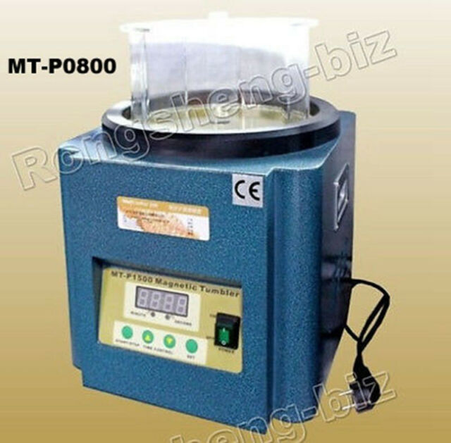 New Magnetic Tumbler 800g/16.5cm Jewelry Polisher Finisher MT-P0800 2800RPM
