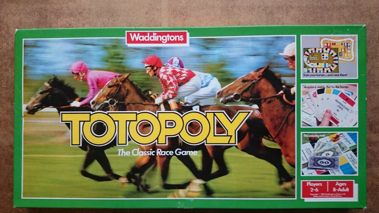 Totopoly Totopoly Totopoly  By Waddingtons 1978 ab286c