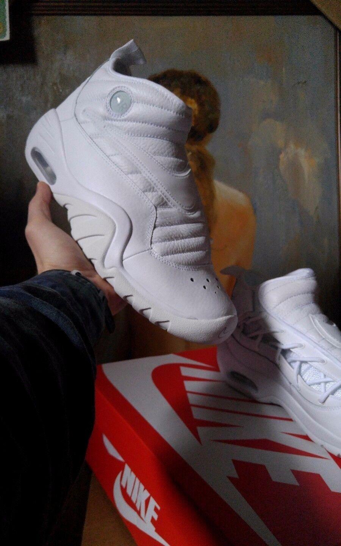 Nike Air Shake NDestrukt size 10 11 11.5 White OG 880869 101 NEW