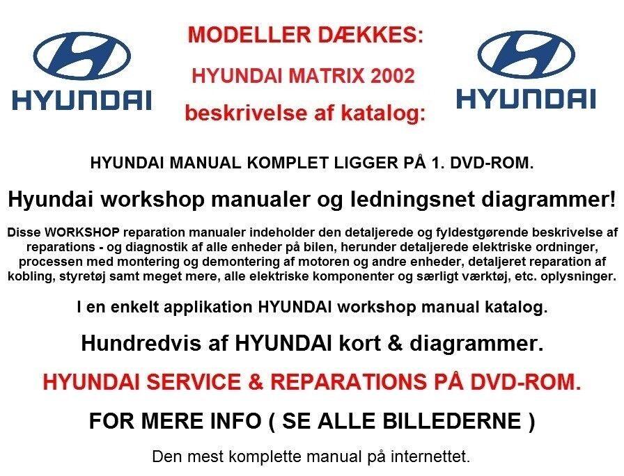 Hyundai matrix service manual download array hyundai matrix service u2013 dba dk u2013 k b og salg af nyt og brugt fandeluxe Gallery