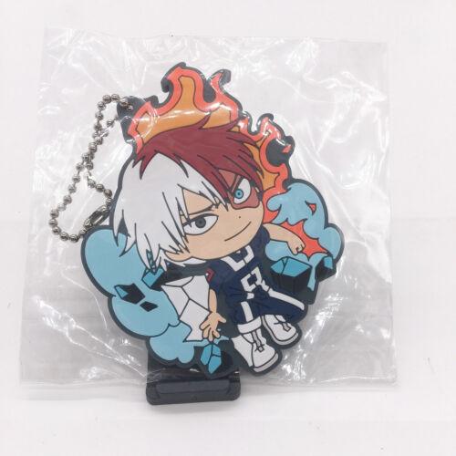 T398 Anime Boku no Hero Academia Izuku Shoto Rubber Keychain Schlüsselanhänger