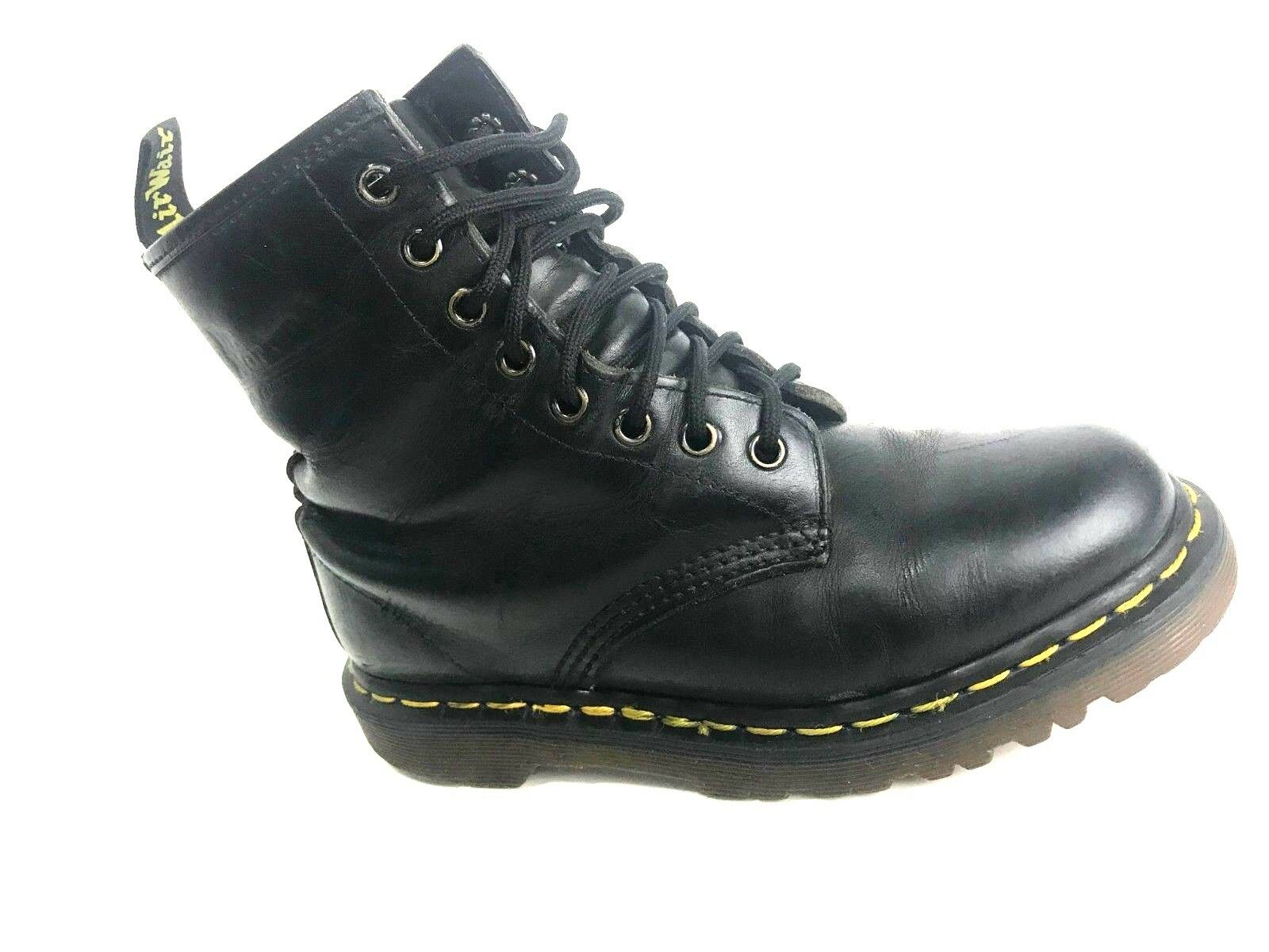 Dr Martens Vintage Made In England Women's Black Boots Size US.7 EU.37.5 UK.5