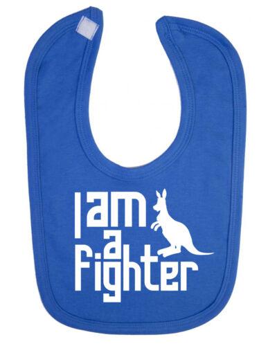Soy un luchador niño babero de bebé recién nacido Canguro