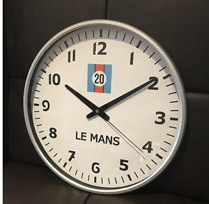 Le-Mans-Steve-McQueen-Wall-Clock-Memorabilia-Gift