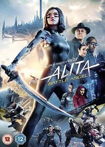 ALITA-BATTLE-ANGEL-DVD-Region-2-Sent-Sameday