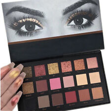 Rose Gold Textured Eyeshadow 18 Colors Matte Eyeshadow Palette Cosmetics Beauty