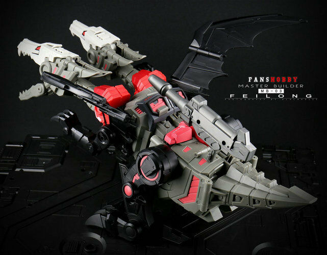 Transformers toy FansHobby MB-03 Feilong Master Builder Action figure New