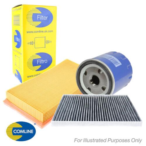 Genuine Comline Air Huile /& Carbone cabine pollen Filtre Service Kit