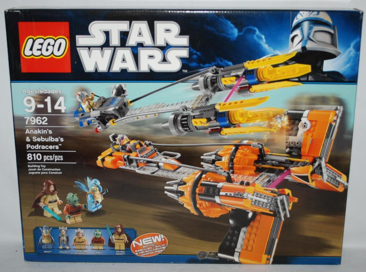 Star Wars Lego 7962 Anakin Skywalker and Sebulba's Podracers 98