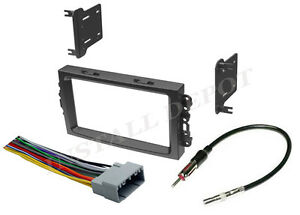 2002 04 gmc jimmy sonoma complete radio install dash kit. Black Bedroom Furniture Sets. Home Design Ideas