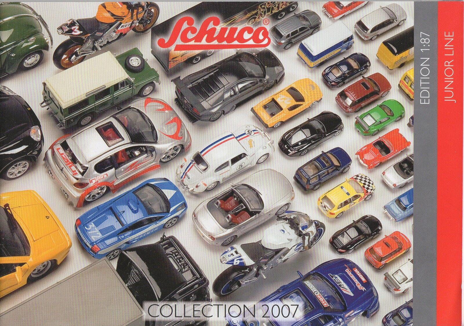 Nachschlagewerk Katalog Junior Line Edition 1:87 Schuco Collection 2007